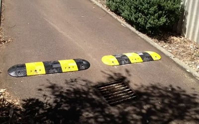 Speed Humps in City