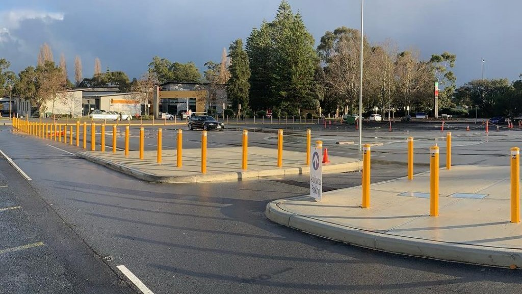 Bollards Installed in Perth